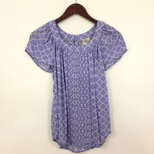 2/$20 St. John's Bay Short Sleeve Blouse